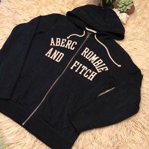 Men's A&F zip up hoodie